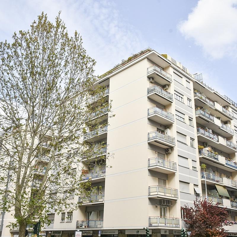 Roma, Quartiere Prati, in Via Cipro, un appartamento ristrutturato vicino al Vaticano.